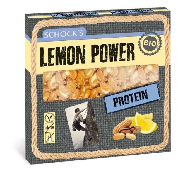 LOGO_Schock's Bio, Multipack, Protein Riegel: Lemon Power 3x25g