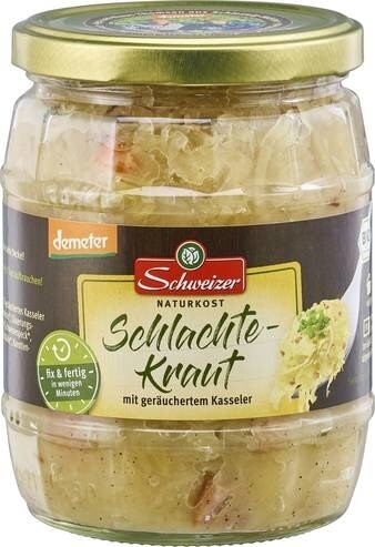 LOGO_demeter Schlachtekraut (Sauerkraut with pork - ready to eat)
