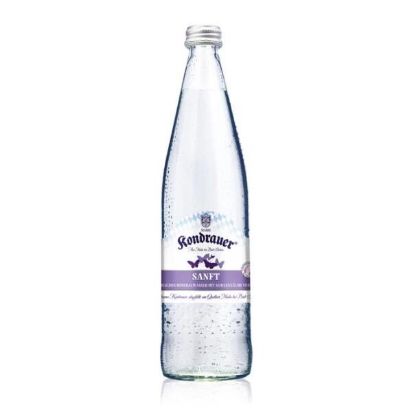 """LOGO_Kondrauer Mineralwasser """"SANFT"""""""