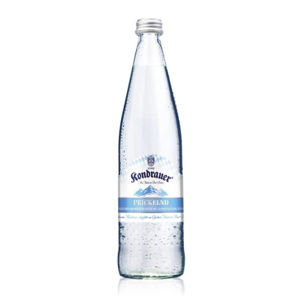 """LOGO_Kondrauer Mineralwasser """"PRICKELND"""""""
