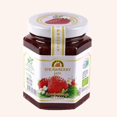 LOGO_Bio jam Strawberry
