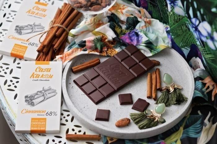 LOGO_Casa Kakau Bastelschokolade mit Zimt