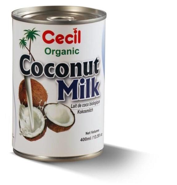 LOGO_Organic Coconut Milk 400ml