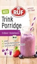 LOGO_Trink Porridge Erdbeer-Heidelbeere