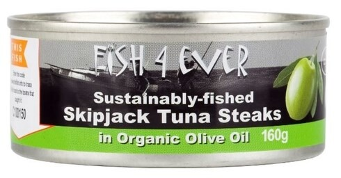 LOGO_Skipjack steaks in organic olive oil