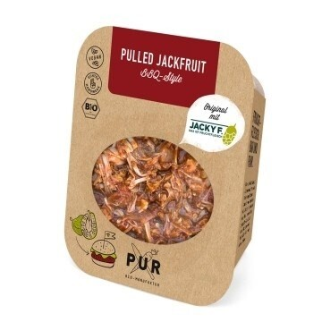 LOGO_PUR Pulled Jackfruit BBQ-Style 200g