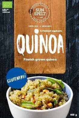 LOGO_SunSpelt Quinoa: Bio Quinoa aus Finnland. Glutenfrei
