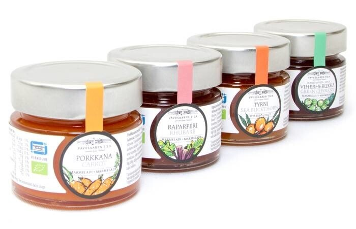 LOGO_Vavesaari Organic Jams: Joy and flavour from Finnish family recipes