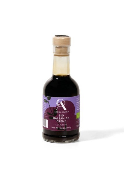 LOGO_Organic balsamic vinegar with thyme honey