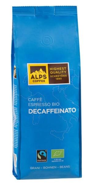 LOGO_Caffè Espresso BIO DECAFFEINATO 500g Bohnen