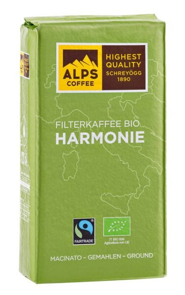 LOGO_Filter coffee BIO HARMONIE 1000g ground