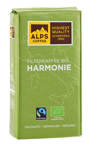 LOGO_Filterkaffee BIO HARMONIE 1000g gemahlen