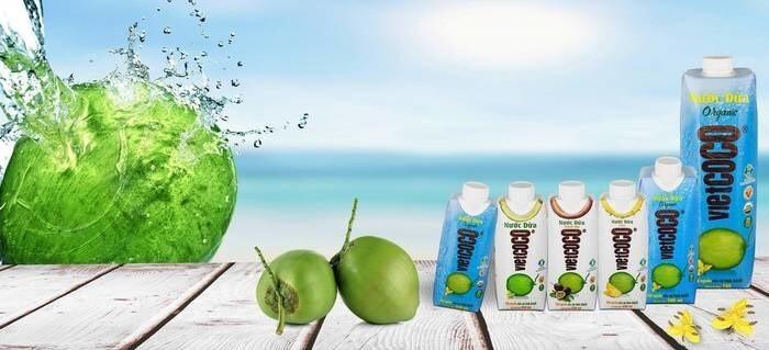 LOGO_ORGANIC UHT Coconut Water in Tetra Pak