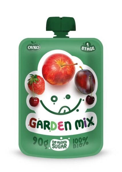 LOGO_ORGANIC Baby food Garden mix