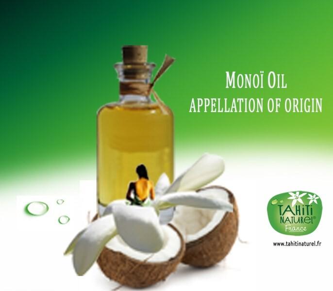 LOGO_100% natürliche Monoï, Französisch-Polynesien, Ecocert zertifiziert
