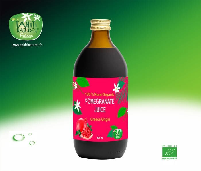 LOGO_Organic Pomegranate juice