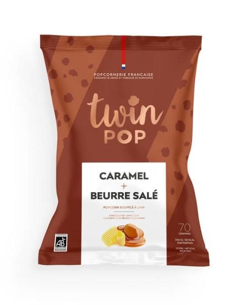 LOGO_Gourmet popcorn - Caramel & Salted Butter