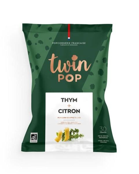 LOGO_Gourmet popcorn - Thyme & Lemon