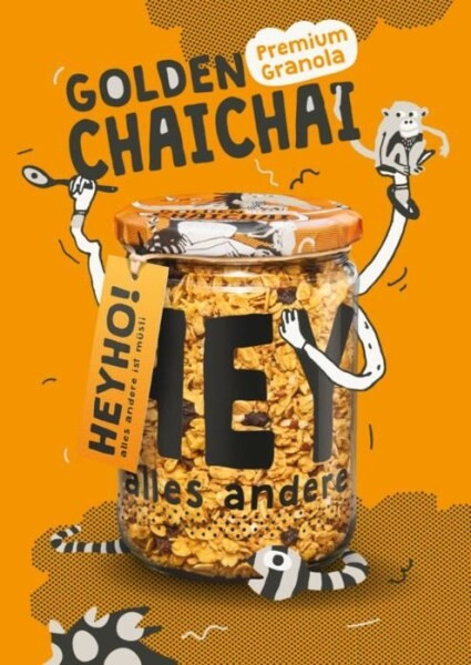 LOGO_Golden ChaiChai Organic Granola with chai-spices & turmeric