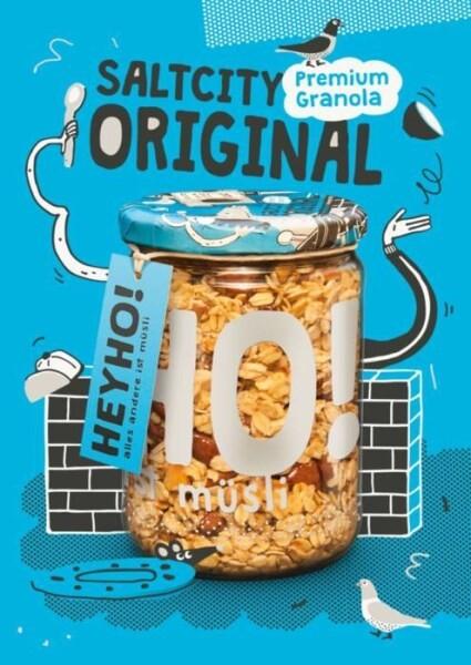 LOGO_Saltcity Original Organic Granola with nuts & a bit of salt