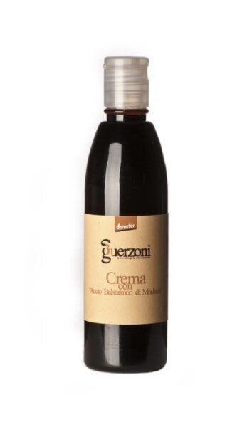 "LOGO_Cream with Organic Demeter ""Aceto Balsamico di Modena IGP"""