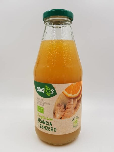 LOGO_ORANGE AND GINGER DRINK