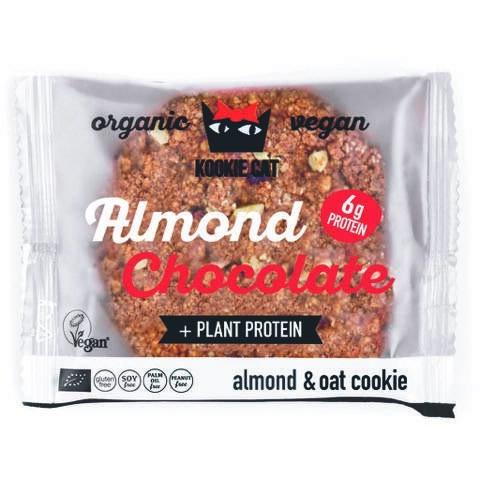 LOGO_Kookie Cat Proteincookie mit Mandeln und Schokolade