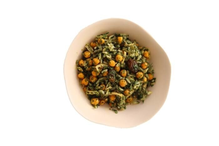 LOGO_Chickpeas with Rice, raisins and herbs