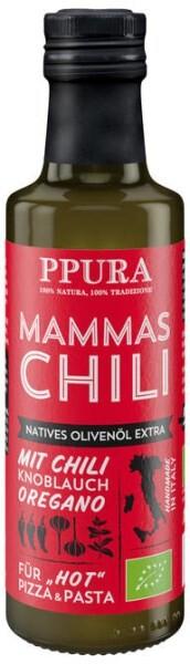 LOGO_Mammas Chili - aromatisiertes Olivenöl mit Chili, Knoblauch und Oregano