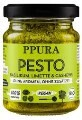 LOGO_Pesto Basilico - pesto with fresh basil, lime and cashew nuts (vegan, ohne Zuckerzusatz)