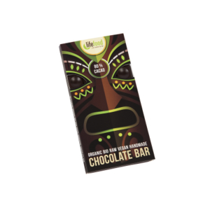 LOGO_Raw Organic 80 % Cacao Chocolate 70g