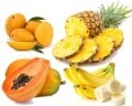 LOGO_Fresh Fruits- Mango, Pineapple, Papaya & Banana
