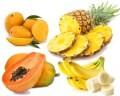 LOGO_Fresh Fruits- Mango, Pineapple, Papaya & Banana