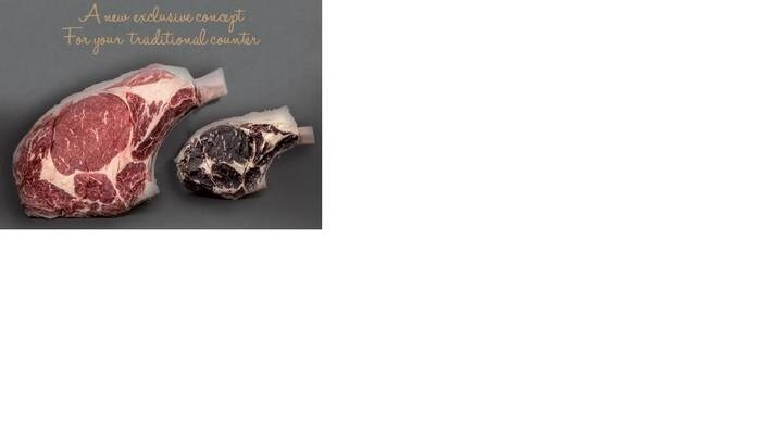LOGO_Dry aging beef meat Charolais