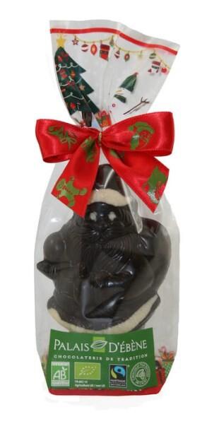 LOGO_72% dunkle Schokolade Santa - 60g BIO UND FAIRTRADE