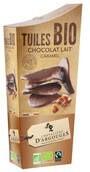 LOGO_37% Milchschokolade und Caramel Tuiles - 130g BIO UND FAIRTRADE