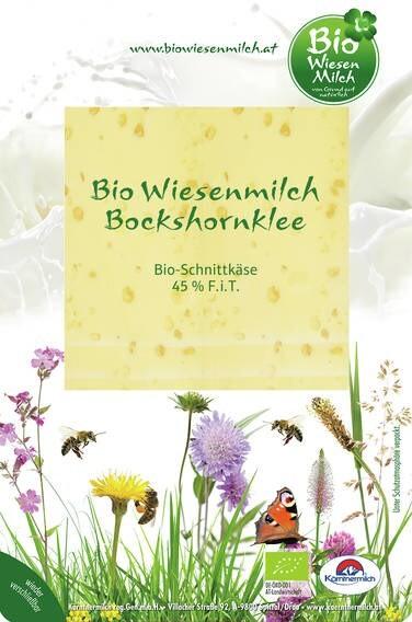 LOGO_Bio Wiesenmilch Boxhornklee Slices 100g
