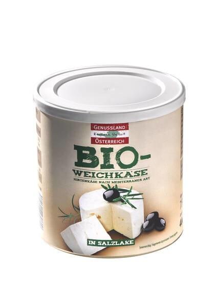 LOGO_Genussland Österreich Bio-Weickäse in Salzlake 400 g