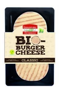 LOGO_Organic Burger Cheese 160 g