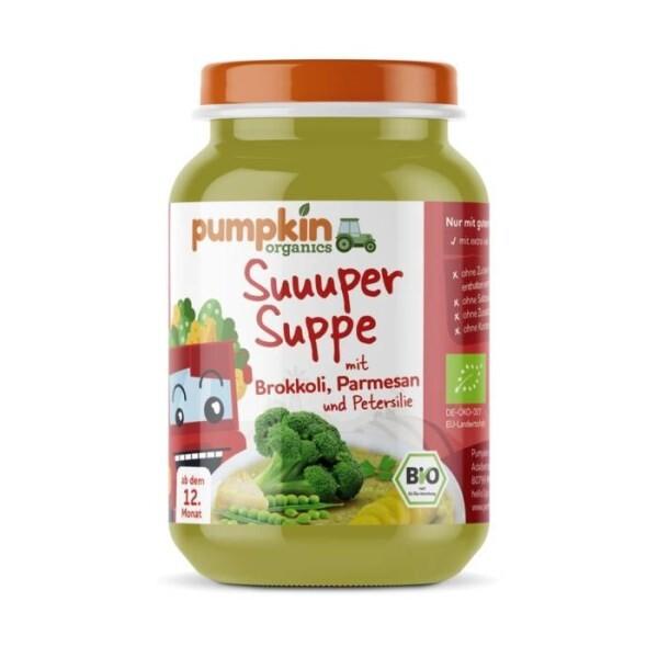 LOGO_Unsere Suppen sind suuuper lecker und haben eine Extraportion Gemüse - ideal für zukünftige Foodies (4 Sorten)