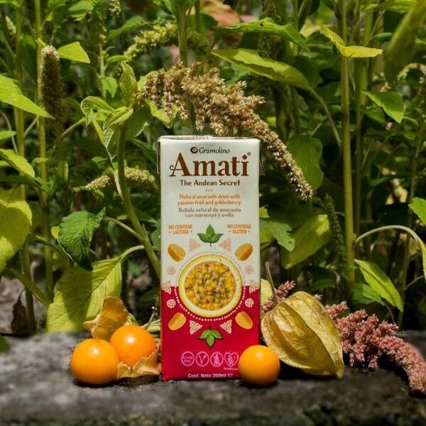 LOGO_Natural amaranth beverage with passionfruit and golden berries