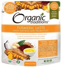 LOGO_Organic Traditions Turmeric Latte with Saffron and Probiotics