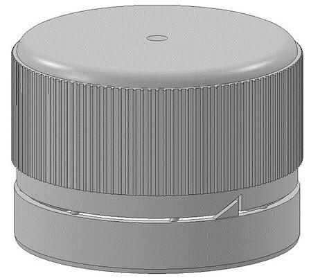 LOGO_PP28 - Bio-Screwcap with tamper-evident seal