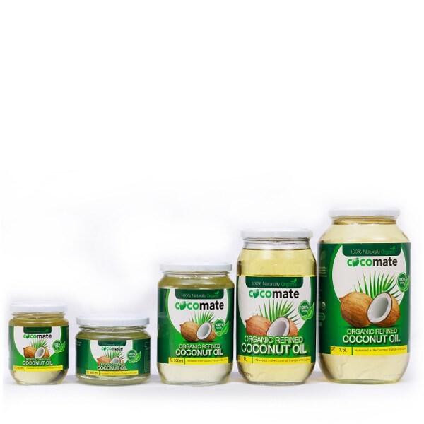 LOGO_Organic Refined coconut Oil