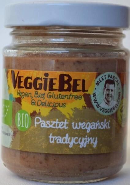 LOGO_VeggieBel, Organic Vegan Paté with Onion and Porcini Mushrooms