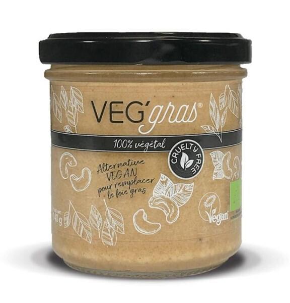 LOGO_VEG'gras®, a vegetable alternative to foie gras