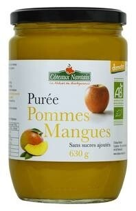 LOGO_Fruchtpüree Apfel-Mango 630 g