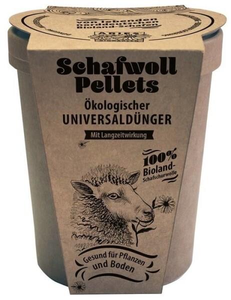 LOGO_Schafwollpelletes - Ökologischer Universaldünger