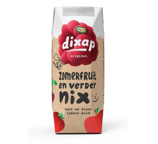 LOGO_Dixap 125ml Kinderportion - Sommerfrucht, Wasser & sonst nichts!