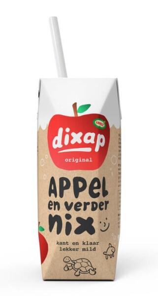 LOGO_Dixap 125ml Kinderportion -  Apfel, Wasser & sonst nichts